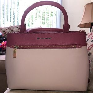 Two Tone Authentic Michael Kors Handbag